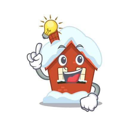 Have an idea winter house with in character shape