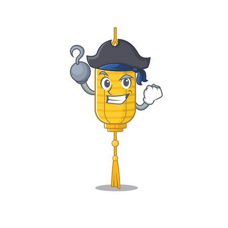 one hand Pirate lamp hanging mascot cartoon style