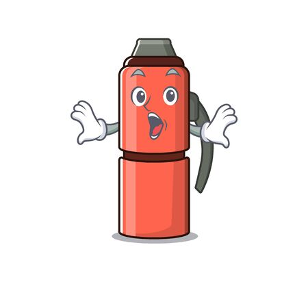 bottle Scroll Surprised gesture on cartoon character style