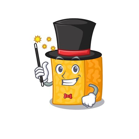 A picture of colby jack cheese performance as a Magician