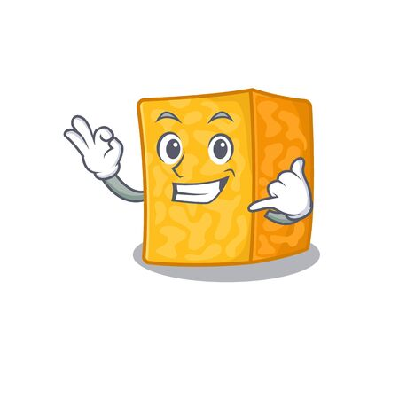 Call me funny colby jack cheese mascot picture style