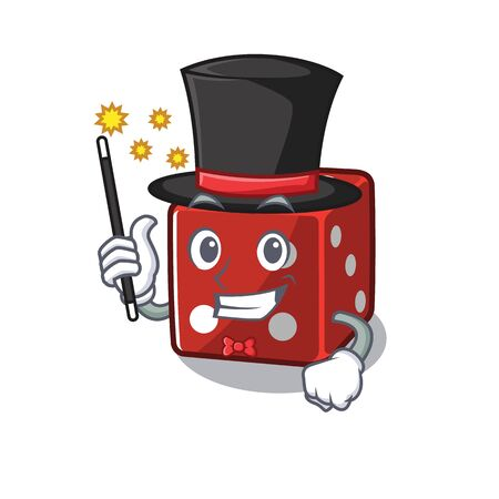 A picture of dice performance as a Magician