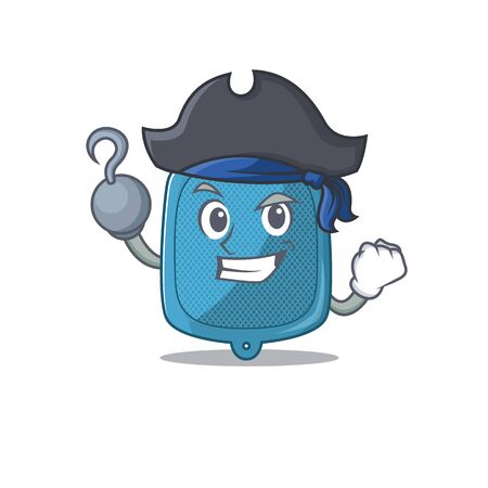 cool and funny hot water bag cartoon style wearing hat. Vector illustration