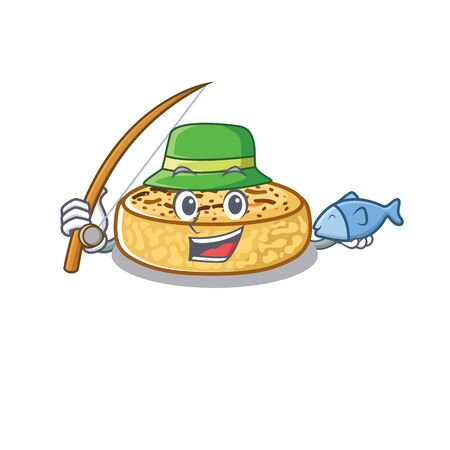A Picture of happy Fishing crumpets design