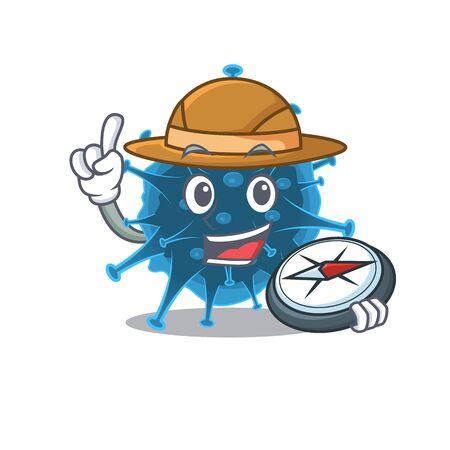 Moordecovirus an experienced explorer with a compass