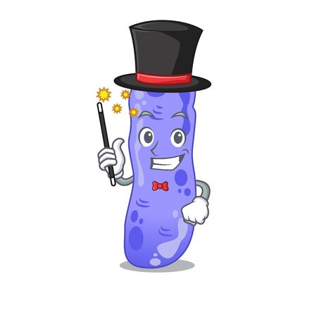 An attractive Magician of legionella cartoon design Иллюстрация