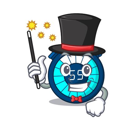 An attractive Magician of hourglass cartoon design Иллюстрация