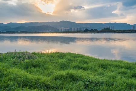 kunming: Kunming Dianchi Lake Stock Photo