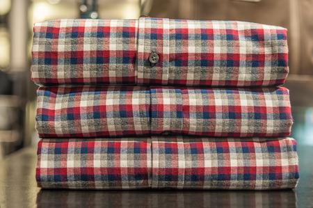 plaid shirt: Plaid Shirt Stock Photo