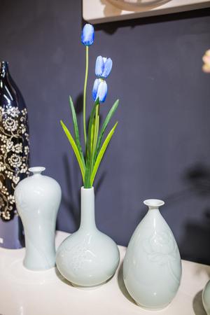 dried flower arrangement: Flower arrangement Stock Photo