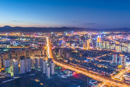 kunming: Kunming at night Stock Photo