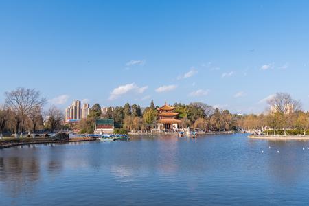 kunming: Daguan Park in kunming,yunnan,china