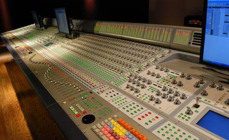 audio: audio mixing console