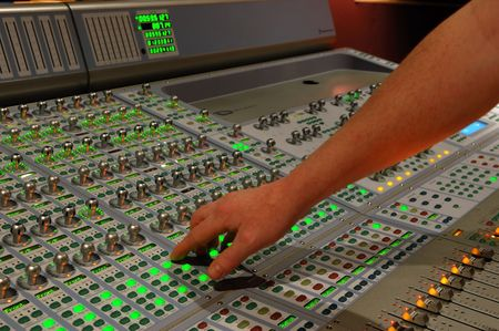 computerize: audio mixing console