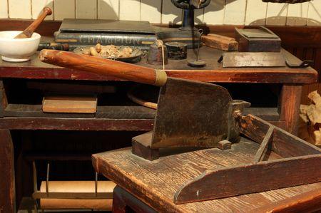 wood cutter: antique blade