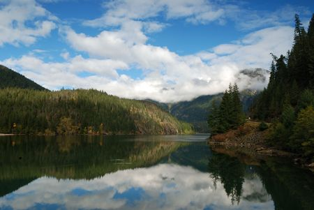 lake diablo: north cascade mountain Stock Photo