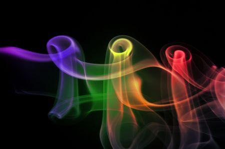 smoke abstract photo