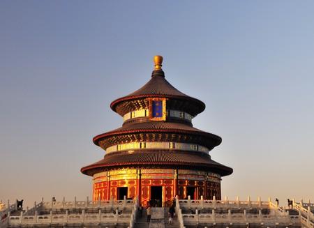 北京天壇でよい収穫のための祈りのホール