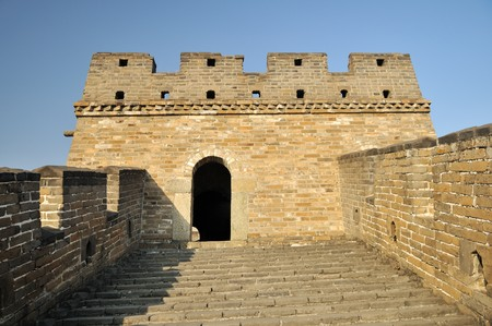 The Great Wall at mutianyu near Beijing Stock Photo - 4130397