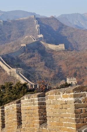 The Great Wall at mutianyu near Beijing Stock Photo - 4130400