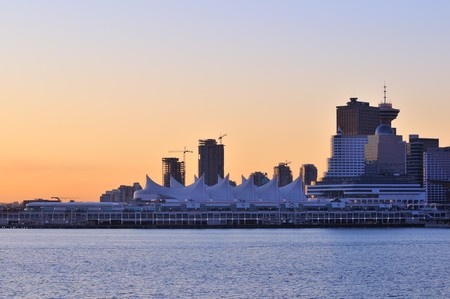 Canada Place, downtown Vancouver