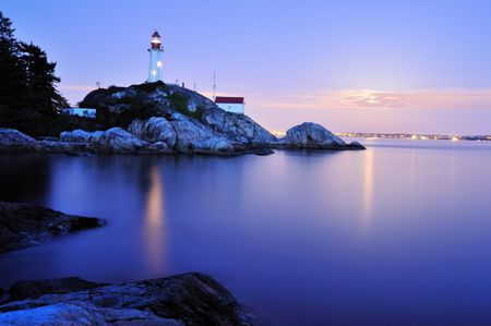west  coast: point atkinson lighthouse, west Vancouver
