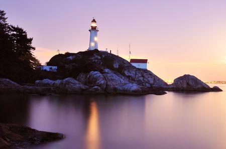 アトキンソン岬灯台、ウェスト バンクーバー