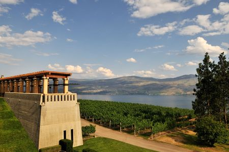 Mission Hill Winery in Kelowna, BC Banco de Imagens - 5236534