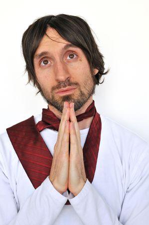 praying man Stock fotó