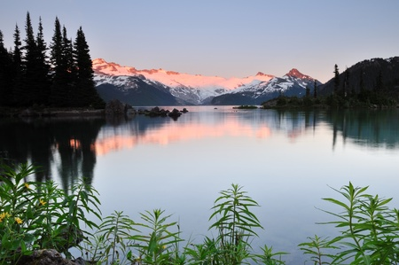 Garibaldi Provincial Park near whistler, British Columbia Stock Photo