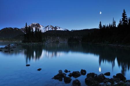 garibaldi: Garibaldi Provincial Park near whistler, British Columbia Stock Photo