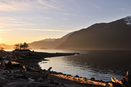 vancouver island: Furry Creek, located on Howe Sound in the Squamish-Lillooet Regional District