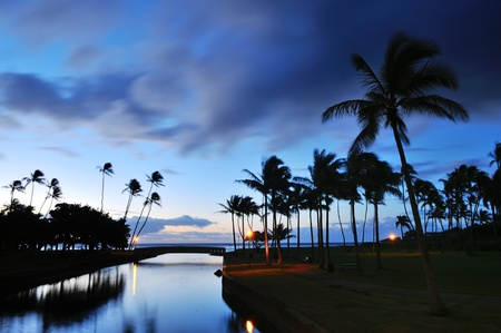 oahu: Waialae Beach Park Sunrise, Oahu, Hawaii
