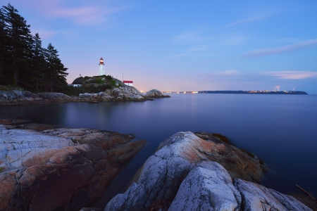 Point Atkinson Lighthouse, West Vancouver, British Columbia photo