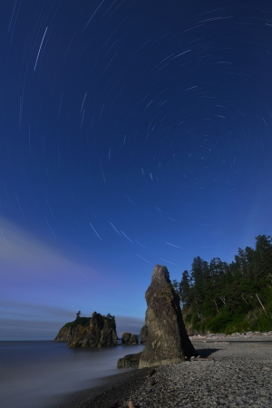 Ruby Beach, Olympic National Park, Washington State