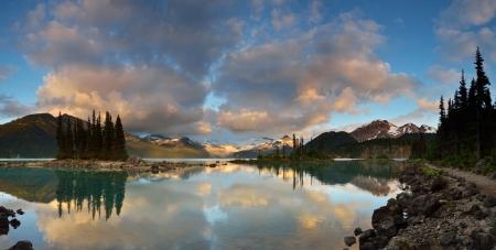 british columbia: Garibaldi Provincial Park near whistler, British Columbia Stock Photo