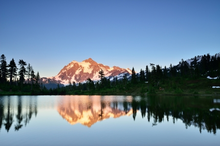Mount Shuksan in Mt  Baker-Snoqualmie National Forest photo