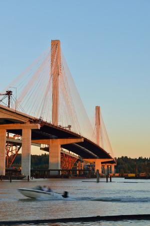 mann: The New Port Mann Bridge, one of the widest bridges in the world
