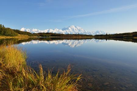 denali: Denali Mountain and Reflection Pond, Alaska