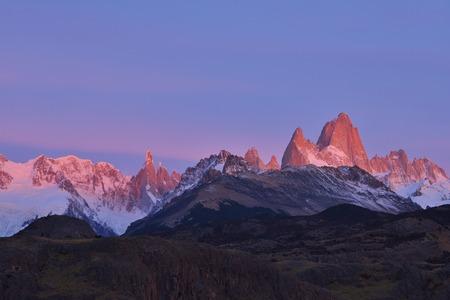 fitz: Fitz Roy Mountain sunrise, Patagonia, Argentina