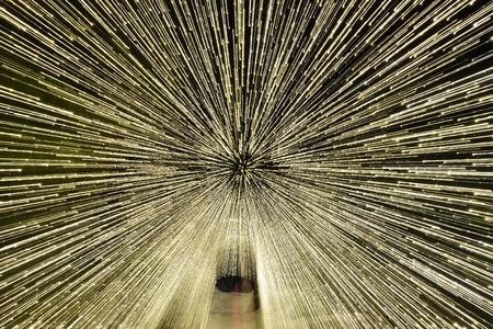 tunnel light: Christmas lights tunnel, Light Walk on Grouse Mountain