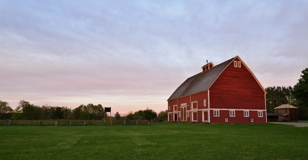 homestead: Hovander Homestead Park preserves the rich history of pioneer farming and offers recreational opportunities for all ages in every season
