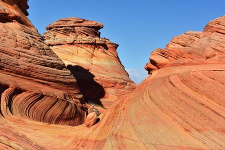 paria canyon: Coyote Buttes, Paria Canyon-Vermilion Cliffs Wilderness, Arizona Stock Photo
