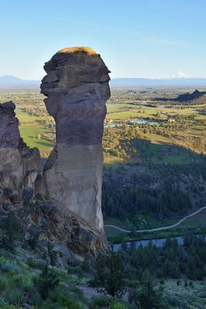 Monkey Face, Smith Rock and Crooked River, Oregon
