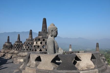 Borobudur temple in Jogjakarta,indonesia