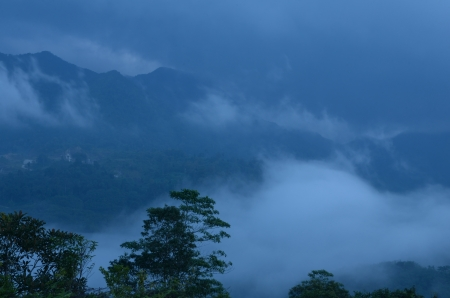 krung: Mist of the  Krung Ching,330 m above sea level