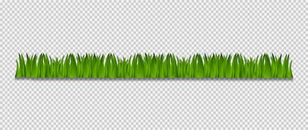 Grass Border,Vector Illustration