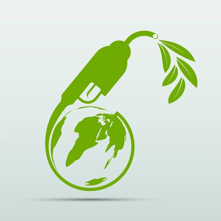 International Biodiesel Day. 10 August.for Ecology and Environmental Help The World With Eco-Friendly Ideas, Vector Illustration