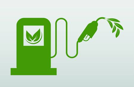 International Biodiesel Day.10 August.for Ecology and Environmental Help The World With Eco-Friendly Ideas,Vector Illustration
