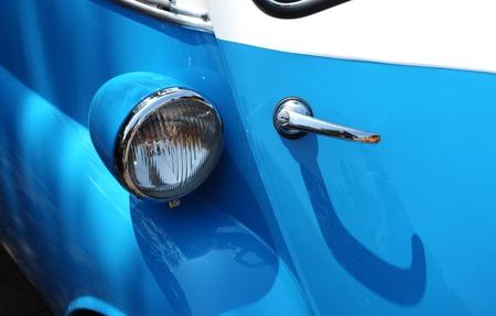Detalhe de um carro antigo